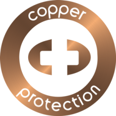 Copper Protection Logo Tecnologia en cobre
